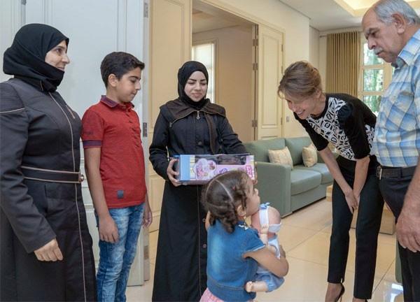 b6159f99fb2c8 روابط  سوريا، بشار الأسد، أسماء الأسد، سرطان،