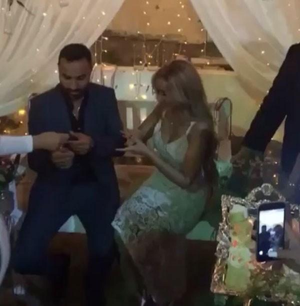 خطوبة احمد فمي وهنا الزاهد