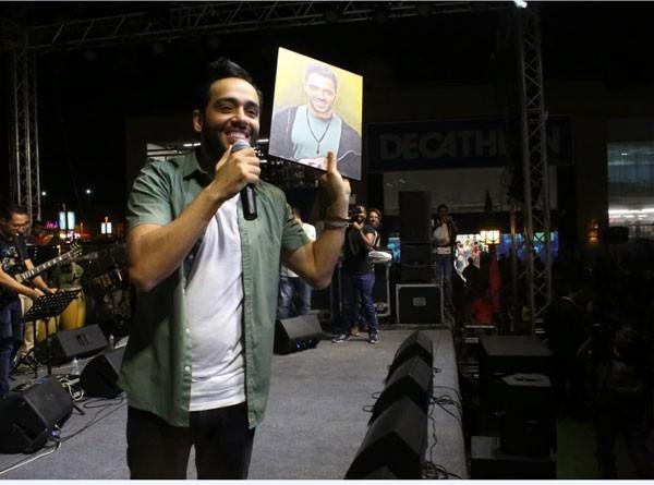 حفل رامي جمال بمناسبة البومه ليالينا