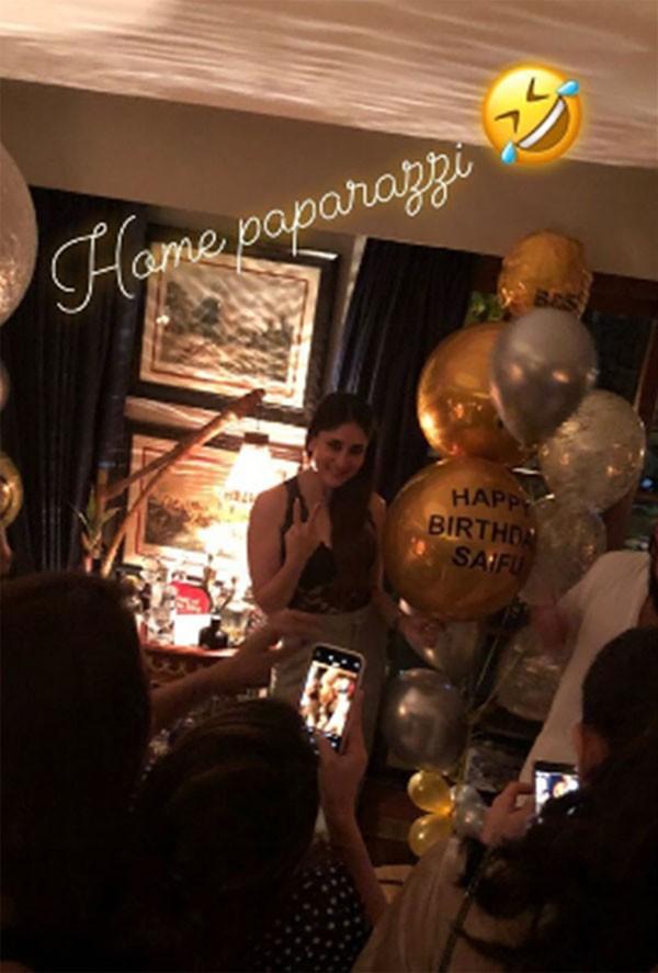 صور.. سيف علي خان يحتفل بعيد ميلاده الثامن والأربعين مع الأصدقاء والعائلة