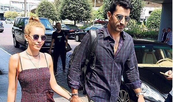 كينان أميرزالي يسافر زوجته عطلة