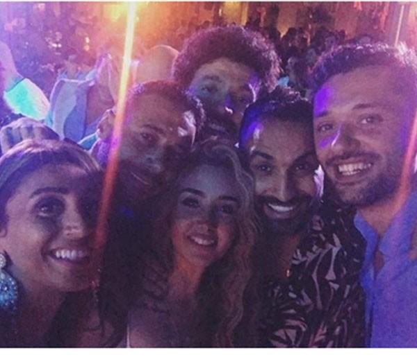 حفل زفاف محمد عادل امام
