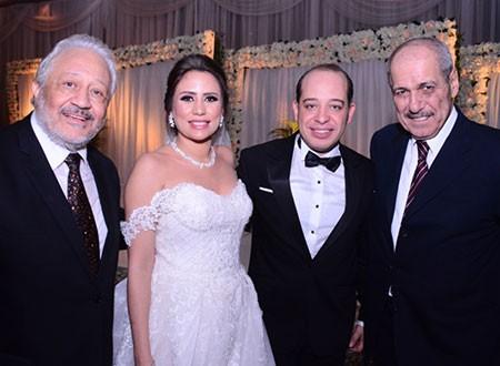 زفاف تامر خالد زكي و ساره اشرف جاد المولى
