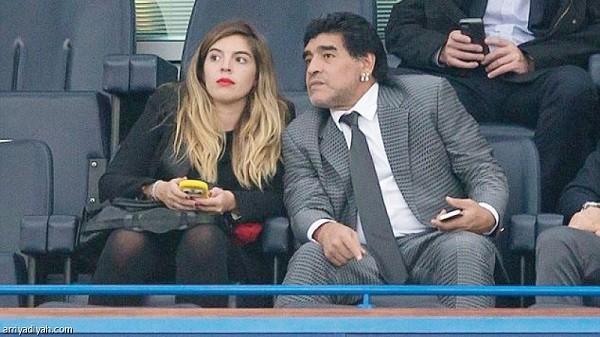 ابنة دييجو مارادونا