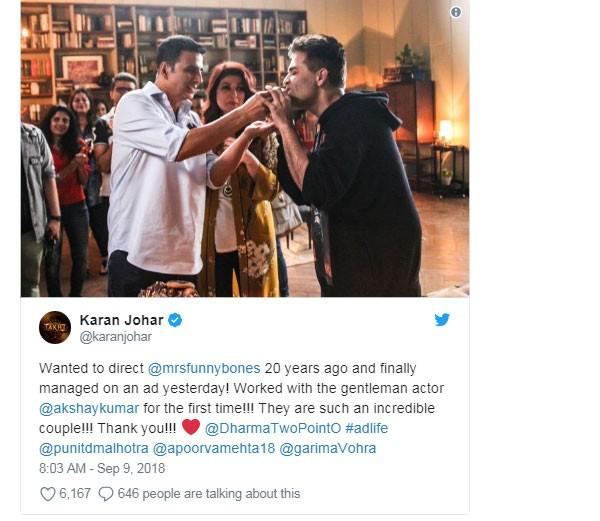 أكشاي كومار يحتفل بعيد ميلاده مع الأصدقاء بأحد المطاعم.. صور