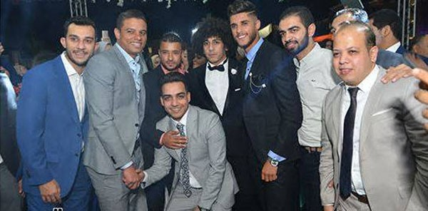 اللاعب حسين السيد يحتفل بزفافه بحضور نجوم الفن والرياضة.. صور  20180910_163312_3204
