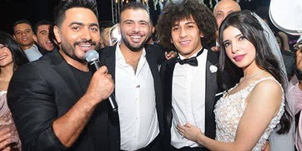 اللاعب حسين السيد يحتفل بزفافه بحضور نجوم الفن والرياضة.. صور  20180910_163359_6683
