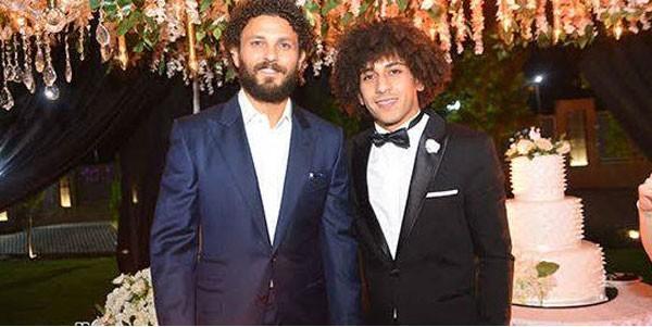 اللاعب حسين السيد يحتفل بزفافه بحضور نجوم الفن والرياضة.. صور  20180910_163402_7473