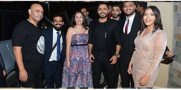 اللاعب حسين السيد يحتفل بزفافه بحضور نجوم الفن والرياضة.. صور  20180910_163405_1811