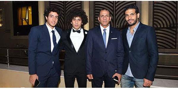 اللاعب حسين السيد يحتفل بزفافه بحضور نجوم الفن والرياضة.. صور  20180910_163406_3698