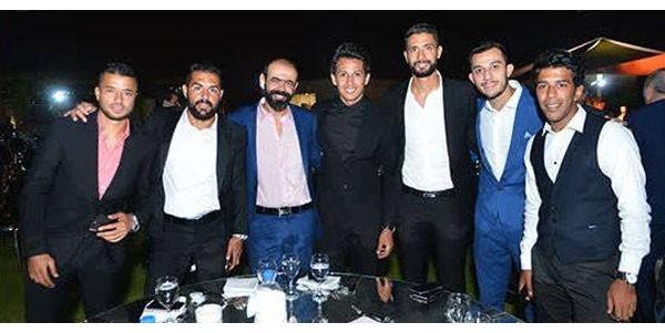اللاعب حسين السيد يحتفل بزفافه بحضور نجوم الفن والرياضة.. صور  20180910_163409_8193