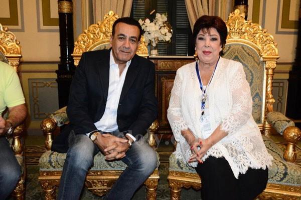 تنصيب منة شلبي و حورية فرغلي و احمد شوبير سفراء لحملة