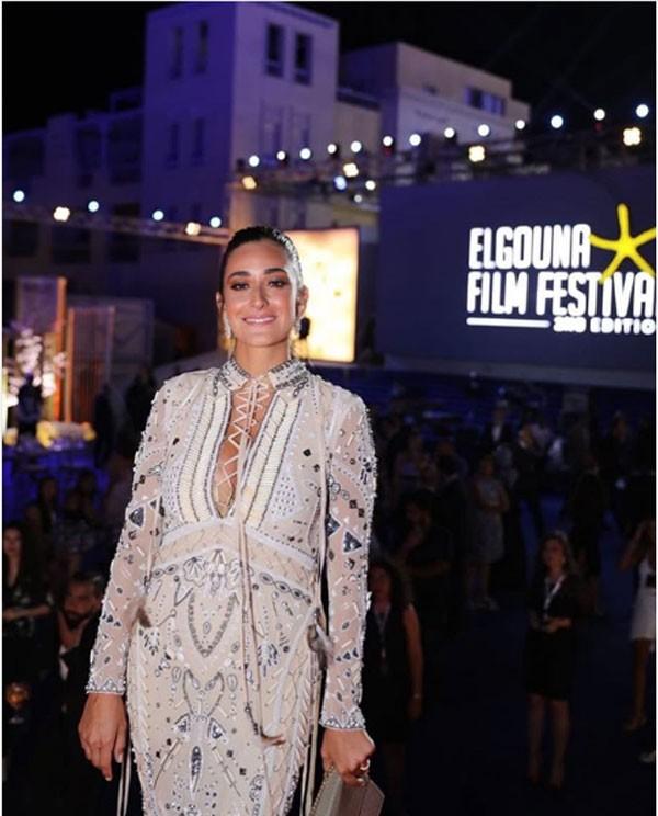 النجوم يتألقون في مهرجان الجونة السينمائي