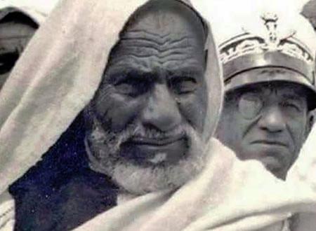 لقطات نادرة جدًا ترصد لحظة محاكمة وإعدام المجاهد الليبي عمر المختار ومقبرته