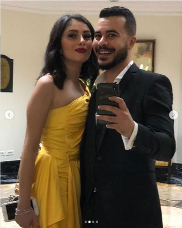 ريم احمد وزوجها