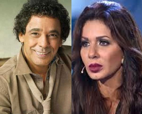 محمد منير و نجلاء بدر
