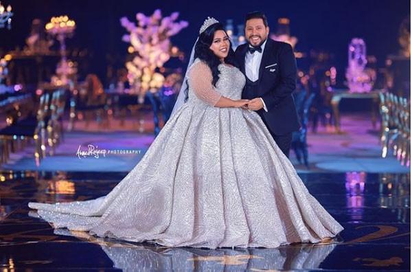 حفل زفاف الفنانة شيماء سيف