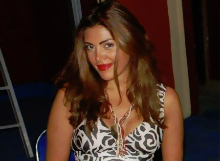 أول صورة لابنة الفنانة ريهام حجاج من زوجها الأول.. شاهد