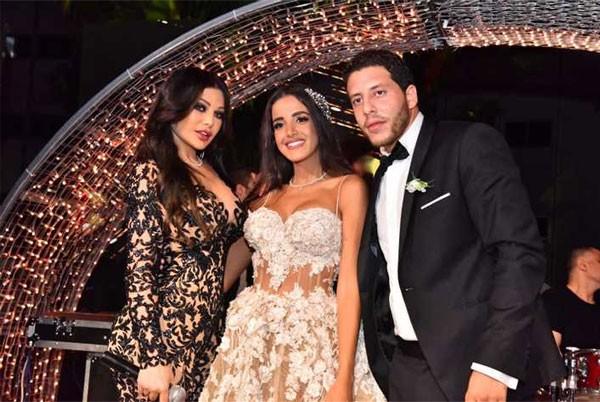 حفل زفاف حفيدة ميمي جمال