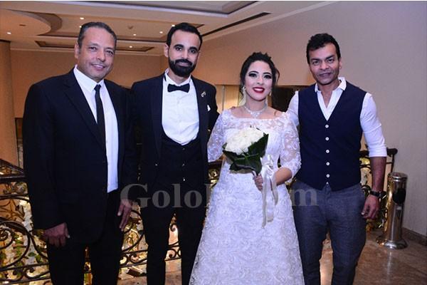 حفل زفاف كريمة الشاعر الغنائى عنتر هلال بحضور نجوم الغناء فى التسعينات