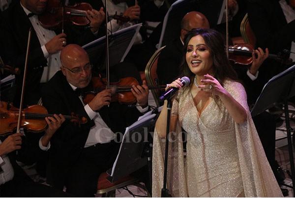 مهرجان الموسيقي العربية- لطيفة - سومه