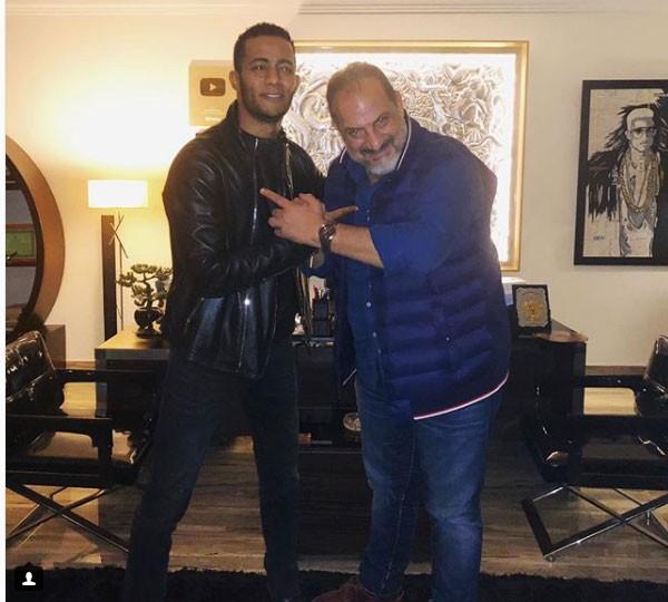 محمد رمضان و خالد الصاوي