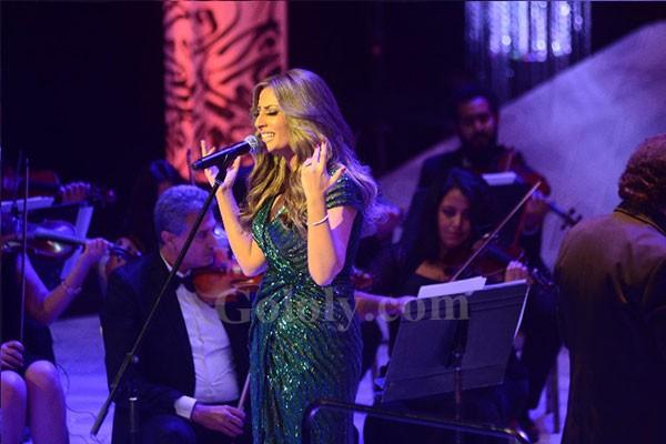 نهال نبيل تشعل الليلة السابعة من فعاليات مهرجان الموسيقى العربية