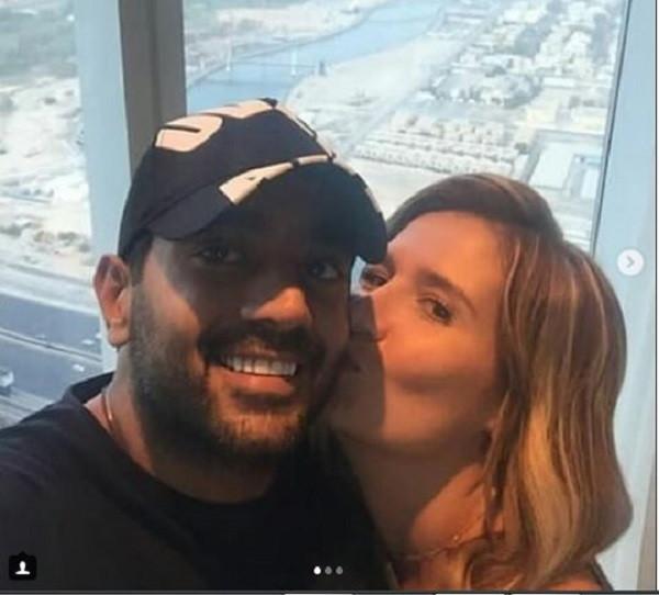 احمد فلوكس وهنا شيحة