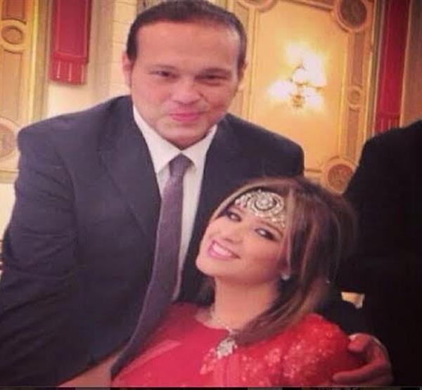 ياسمين عبدالعزيز وزوجها محمد حلاوة