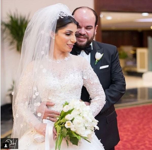 محمد عبدالرحمن وزوجته