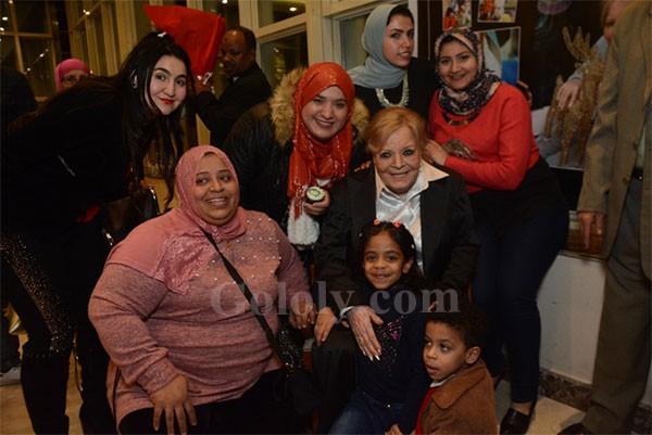 وزارة الثقافة تمنح نادية لطفي جائزة الدولة التقديرية بحضور نجوم الفن