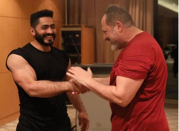 خالد الصاوي و تامر حسني