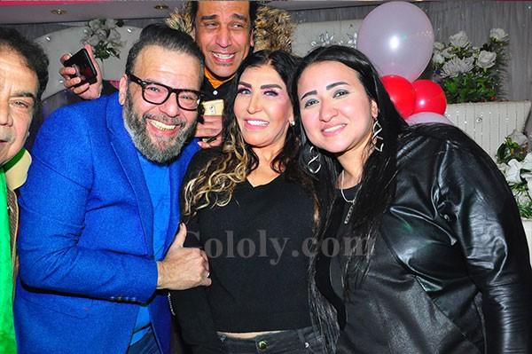 احمد البدري و نادية سلامة و بتشان ونجوم الفن فى عيد ميلاد ابنة ندى عبد اللة