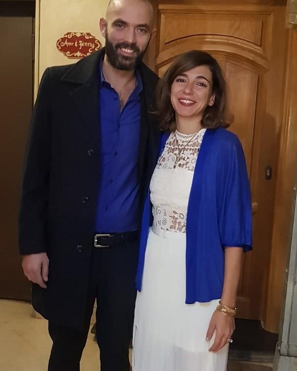 عمر حسن يوسف وزوجته