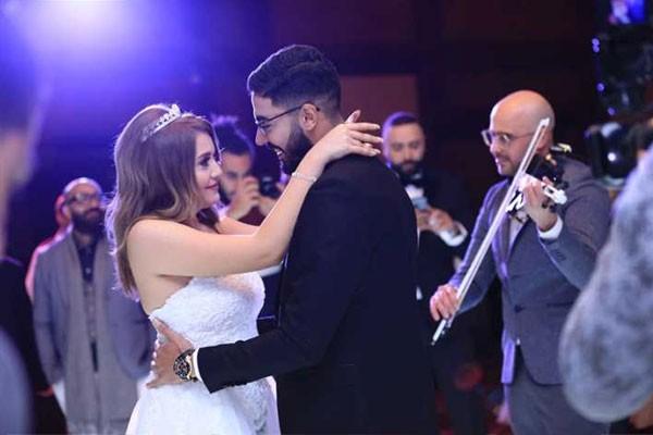زفاف شقيق محمد علاء