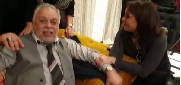 عيد ميلاد اشرف زكي بحضور الفنانين