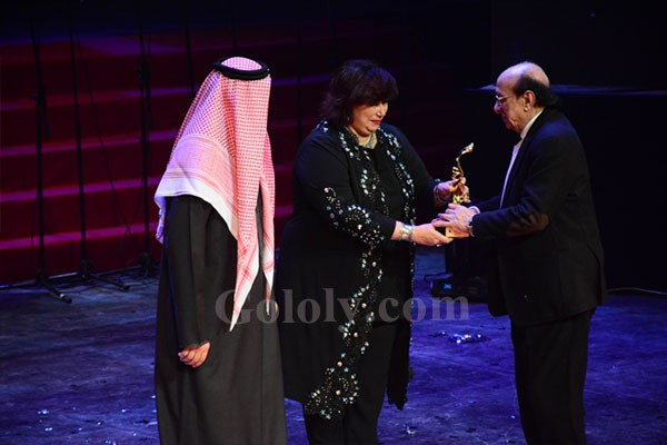 افتتاح مهرجان المسرح العربى