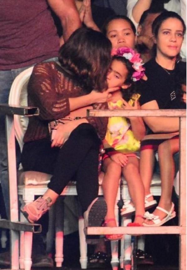 ابنة تامر حسني وبسمة بوسيل