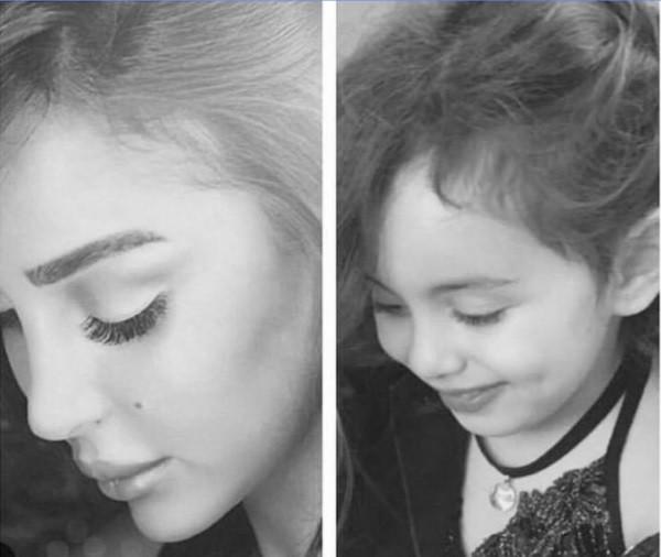 تاليا ابنة تامر حسني وبسمة بوسيل