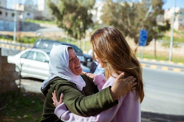 الملكة رانيا العبد الله