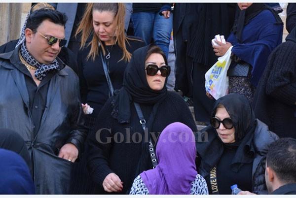 جنازة والد نهال عنبر