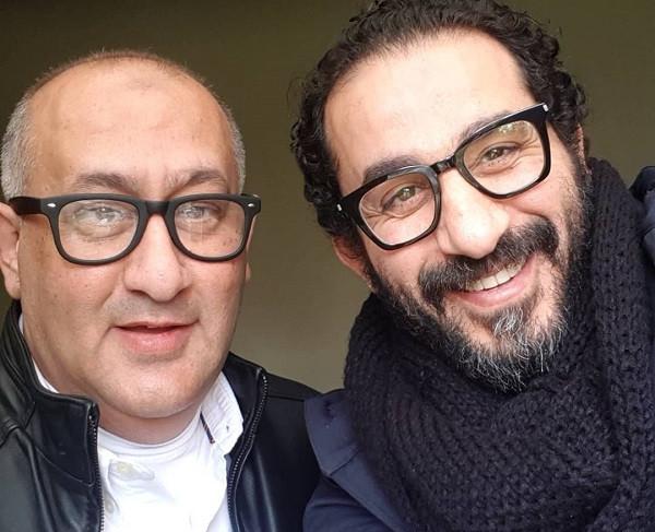 احمد حلمي وشقيقه