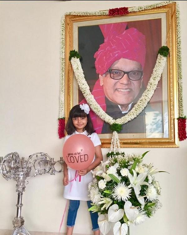 ايشواريا راي تنشر صورة لوالدها الراحل في ذكرى وفاته