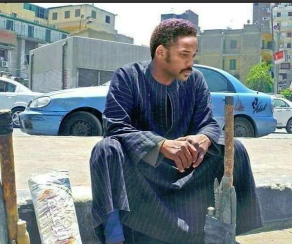 شبيه ويل سميث المصري يثير ضجة على فيس بوك
