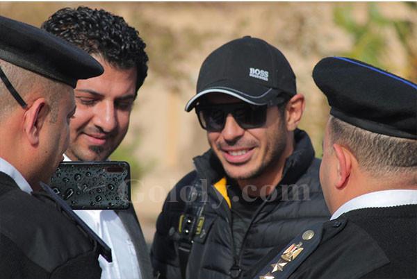 مصطفى شعبان يصل مدينة السلام لتكريمه في افتتاح شرم الشيخ الدولي للمسرح