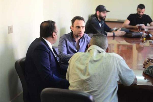 حسام حبيب و شيرين عبدالوهاب