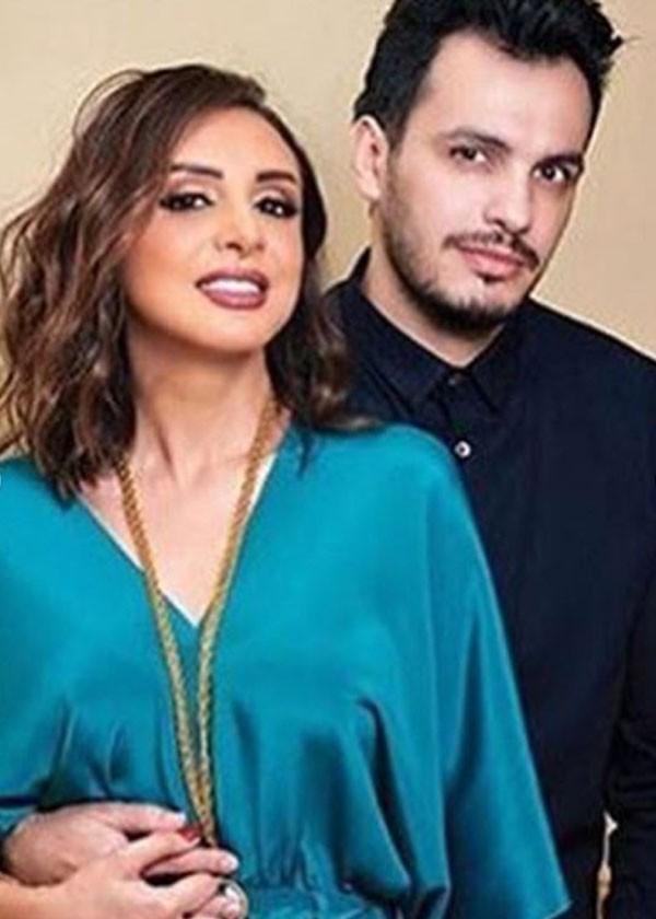 انغام وزوجها