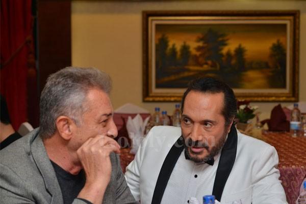 علي الحجار يحتفل بعيد ميلاده مع النجوم
