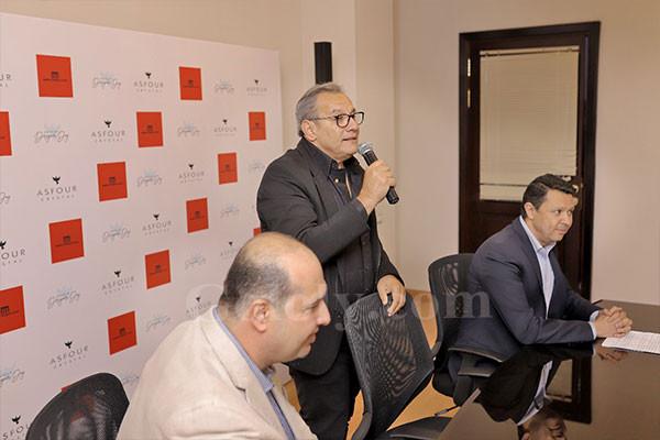 تكريم داليا البحيري وأحمد فريد وهبة الاباصيري من ملتقى الإبداع