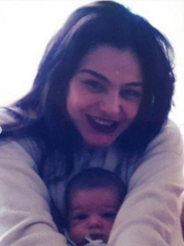 شيريهان وابنتها